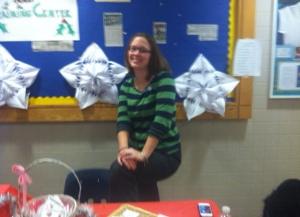 Becky Niman, LABBB Teacher Selling LABBB crafts