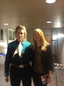 (L)Temple Grandin and Samantha Beers