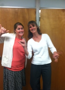 Lindsay Rice, Assistant Program Director and Donna Goodell, Program Director are Ready to Zoom!
