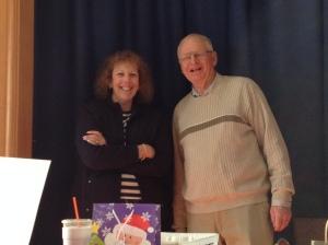 Dianne Costello, LABBB Program Coordinator and Jackson Brincklow, Assistant Teacher