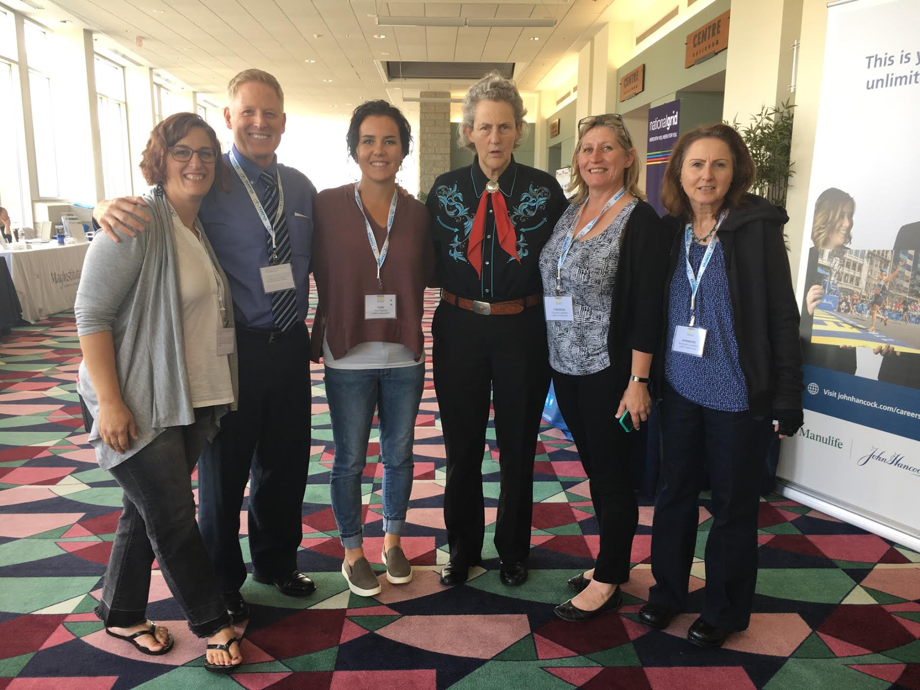 Exceptional LABBB Vocational Counselors With Temple Grandin